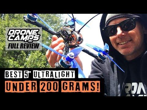 "KINGKONG 200GT - Lightest 5"" Racer? - FULL Review, Flights & Specs"