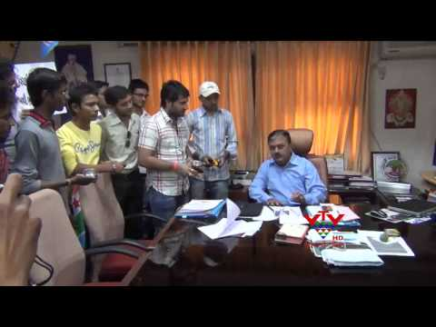 VTV- DRAMATICALLY INCREASES P.HD's FEE IN S.P.  UNIVERSITY, ANAND