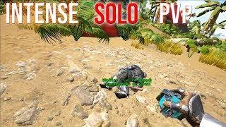 THE SOLO REBUILD BEGINS - ARK 3-MAN PVP SOLO #2