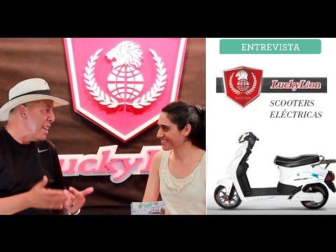Entrevista a Lucky Lion: Scooters Eléctricas