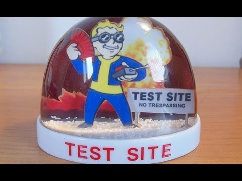 Fallout: New Vegas - SNOW GLOBE - Test Site (LOCATION)