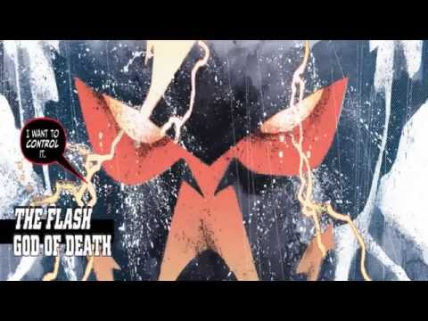 Justice league The Darkseid War Comic - THE Flash - God of Death