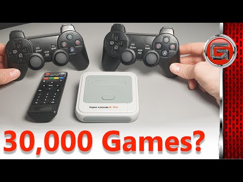 Super Console X Pro Amlogic S905X Wireless TV Game Console Review