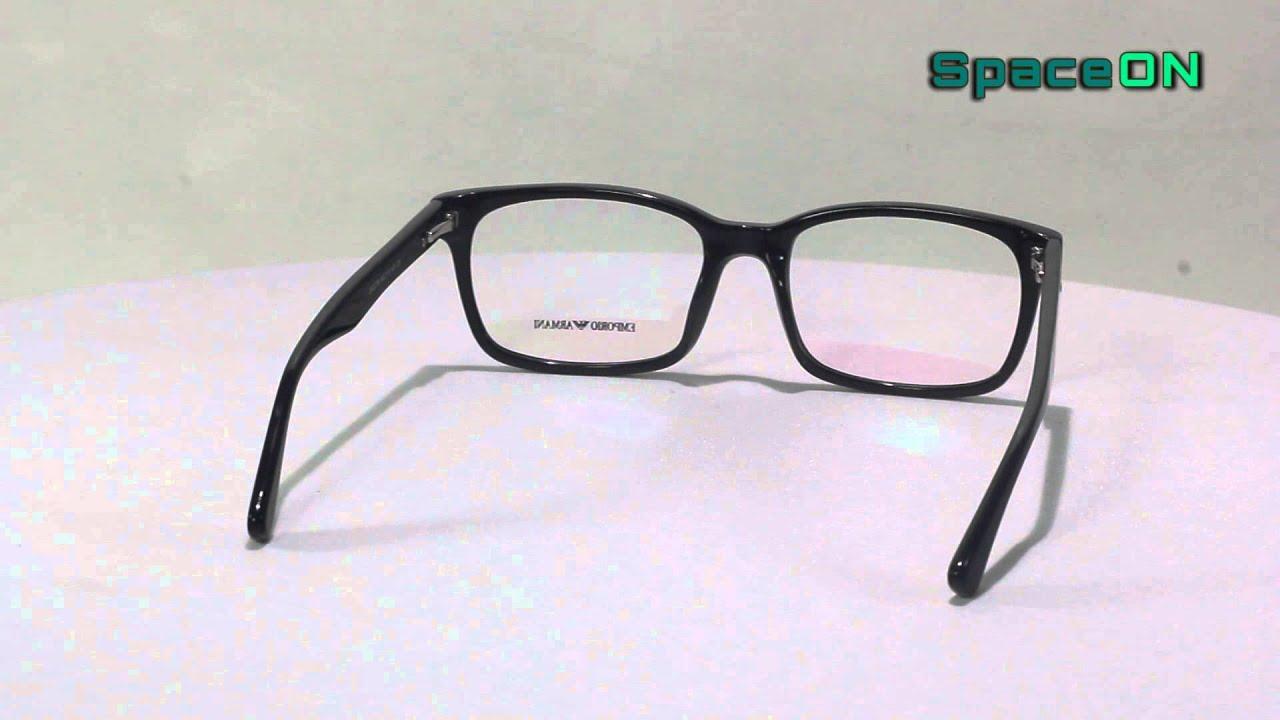 da86ee1f13fdd Armação Oculos P Grau Emporio Armani Pronta Entrega - YouTube