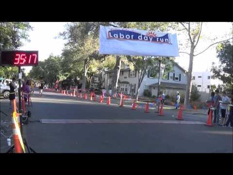 Doggy Dash 5K - Davis Labor Day Race 2015 (Mute)