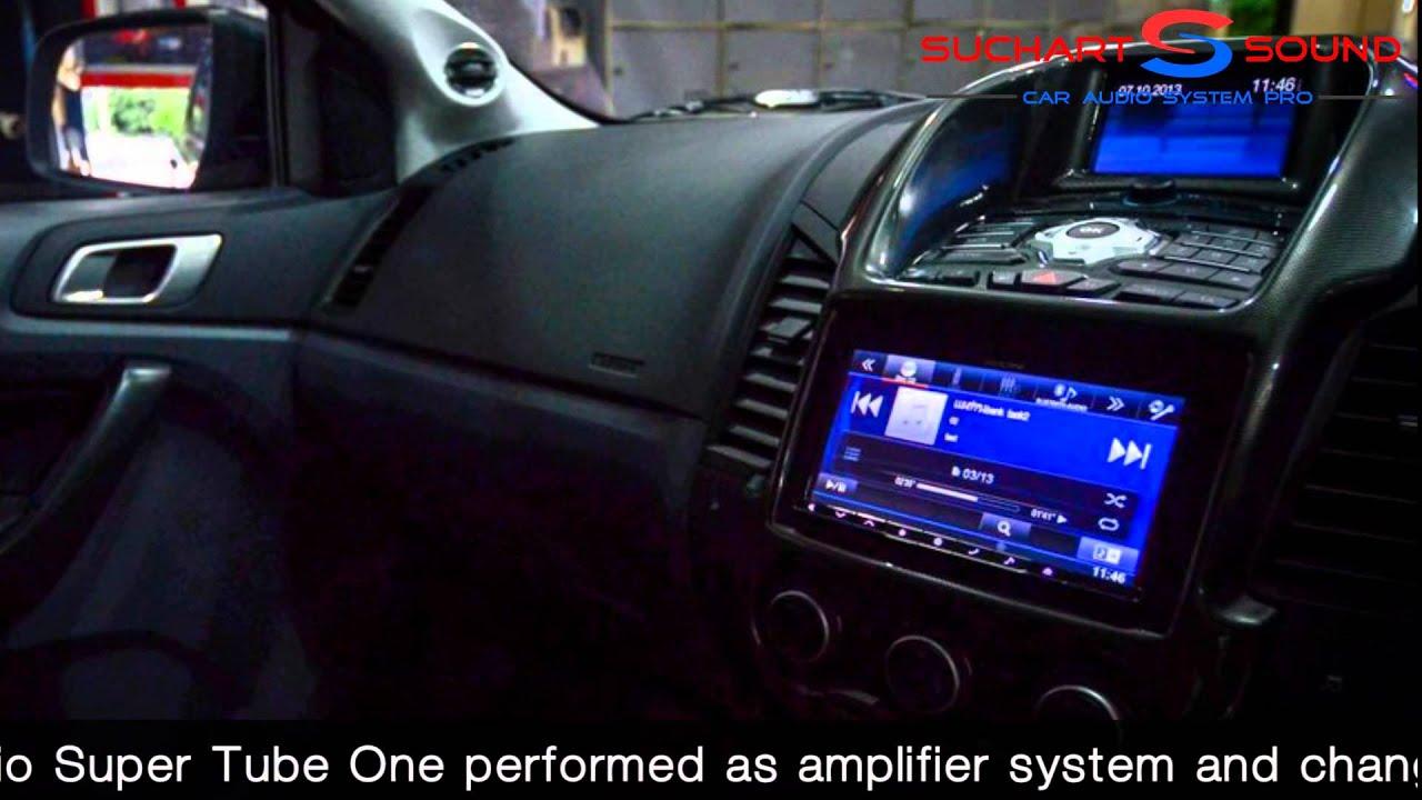Multimedia Bi Amplifier In Ford Ranger Wildtrack Youtube