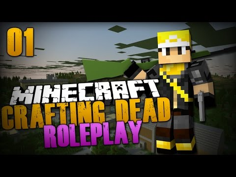 """Trust"" The Crafting Dead #1 (Season 1) Minecraft Roleplay"