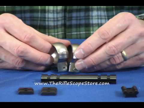 Scope Mounting: Rings And Bases