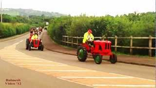 Vintage Tractors Plus Steam Engine Road Run.