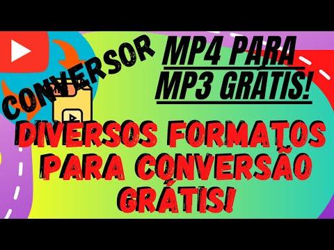 Converter MP4 para MP3 Grátis Converter Vídeo para MP3 Gratuito Online Extensão Crome Grátis