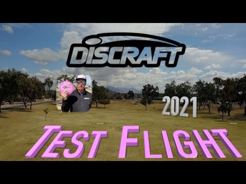 Discraft's New Test Flight Disc first impressions with Pete Ulibarri