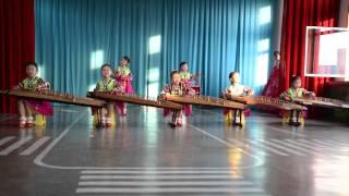 Kindergarten rendition of Arirang in Chongjin, North Korea