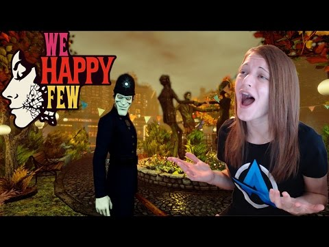 WE HAPPY FEW W/HOLSTER! XBOX PREVIEW TRIAL – EPIC FAILS!