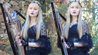 MEGADETH - A Tout le Monde (Harp Twins) Camille and Kennerly