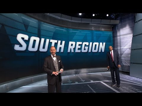 Virginia sits atop the South Region bracket