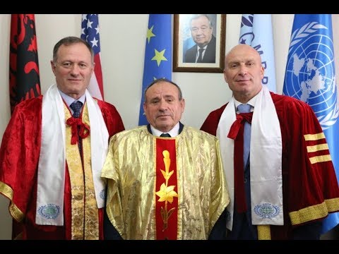 Dr. Shefki Hysa and Dr. Madhu Krishan honor General Dedë Prenga and former Minister Dritan Demiraj