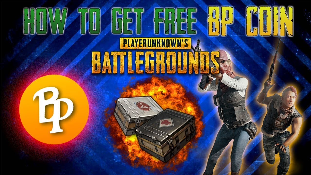 pubg what to do with bp coins