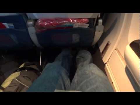 Delta 737 Exit Row Seat Tour