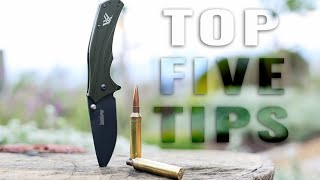 Top 5 Hunting Lessons