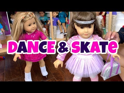American Girl Dance And Ice Skate Outfits