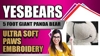 Yesbears 5 foot panda review video