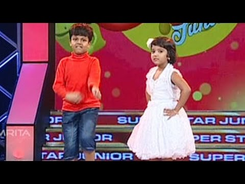 Super Star Junior- 5 | Sreenandh & special Guest Ann Kutty - Dance Performance
