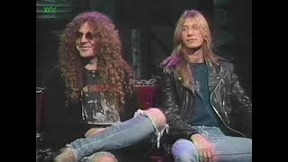 Eric Wagner and Rick Wartell (Trouble) on The Headbangers Ball 1992