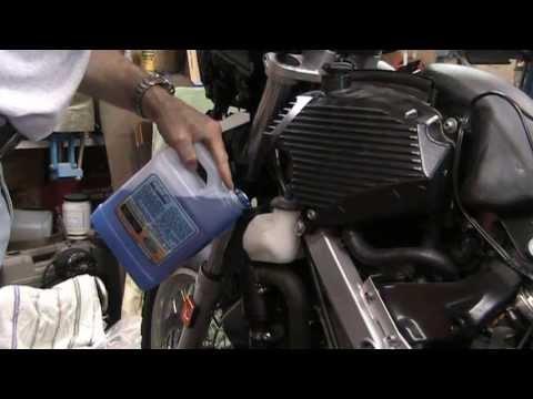 Bmw G650 Gs Coolant Change Diy Youtube