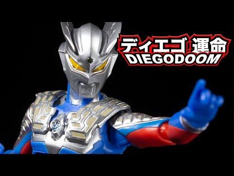 S.H.Figuarts Ultraman Zero (ウルトラマンゼロ) Review