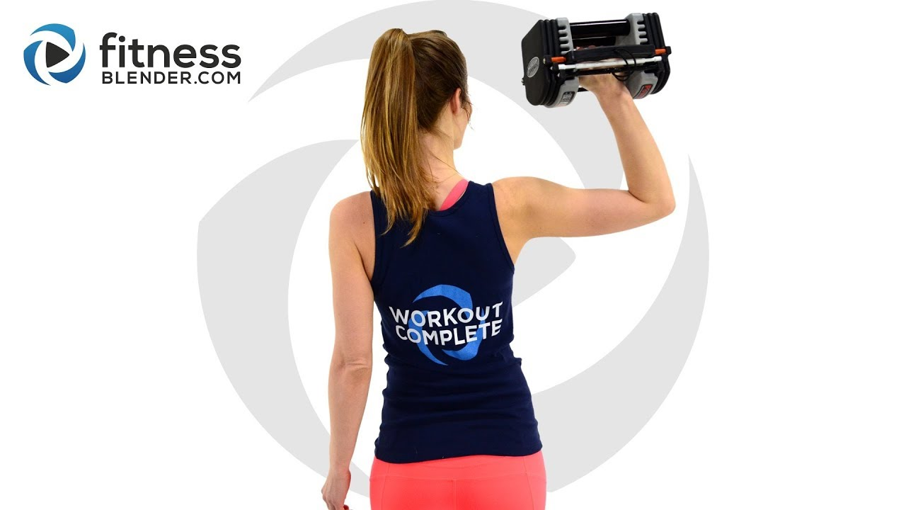 1ed78513f58 Upper Body and Abs Workout - Compound Upper Body Workout for Strength and  Coordination