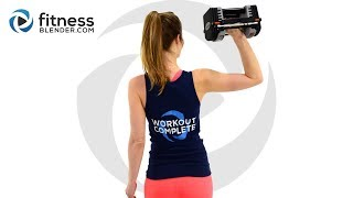 Upper Body and Abs Workout - Compound Upper Body Workout for Strength and Coordination