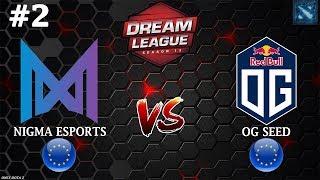 ДЬЯВОЛЫ ВОРВАЛИСЬ в ПРО СЦЕНУ! | Nigma vs OG Seed #2 (BO3) DreamLeague Season 13 OQ