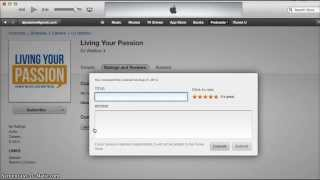 How to leave an iTunes rating & review for Living Your Passion podcast Thumbnail