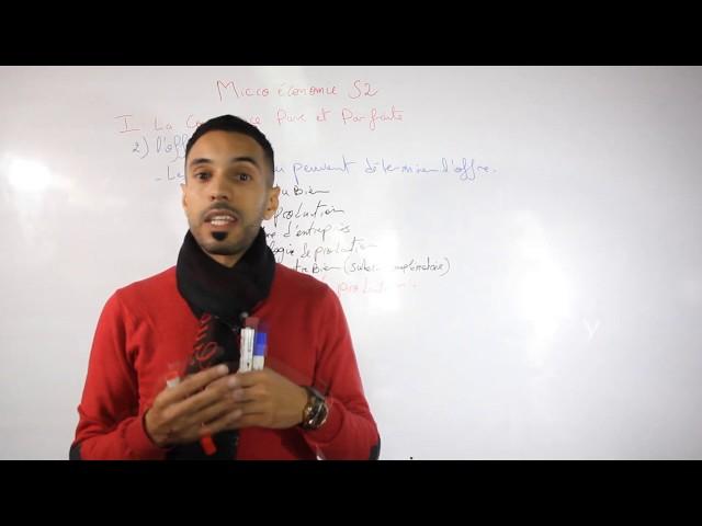Microéconomie S2 #EP02 CPP l'offre (RELANCIA)