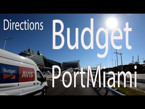 Budget / Payless Car Rental Downtown Miami Directions And Map In 4K