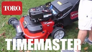 NEW!! TORO TIMEMASTER 30 INCH - MUST SEE BEFORE YOU BUY!!!!  - BEST REVIEW