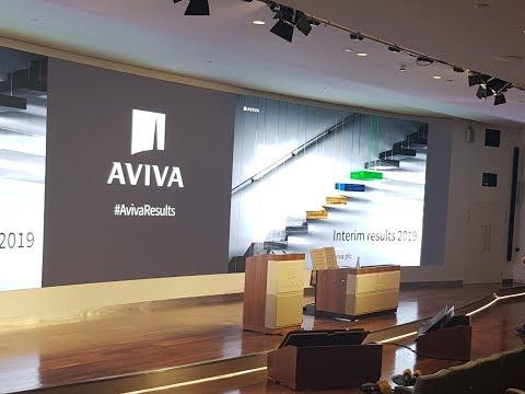 Aviva's 2019 half year results investor presentation