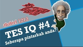 tes IQ #4 - seberapa pintarkah anda?