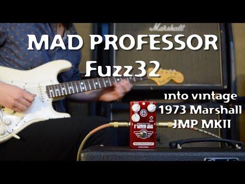 Mad Professor Fuzz32 into a vintage Marshall by Marko Karhu