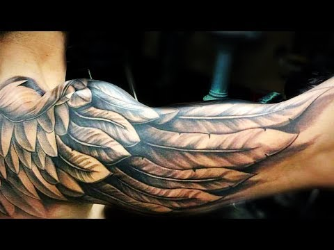 40 Wing Chest Tattoo Designs For Men – Freedom Ink Ideas