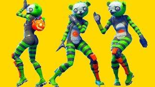 Fortnite All Dances Season 1-6 with Spooky Team Leader Updated to Headbanger