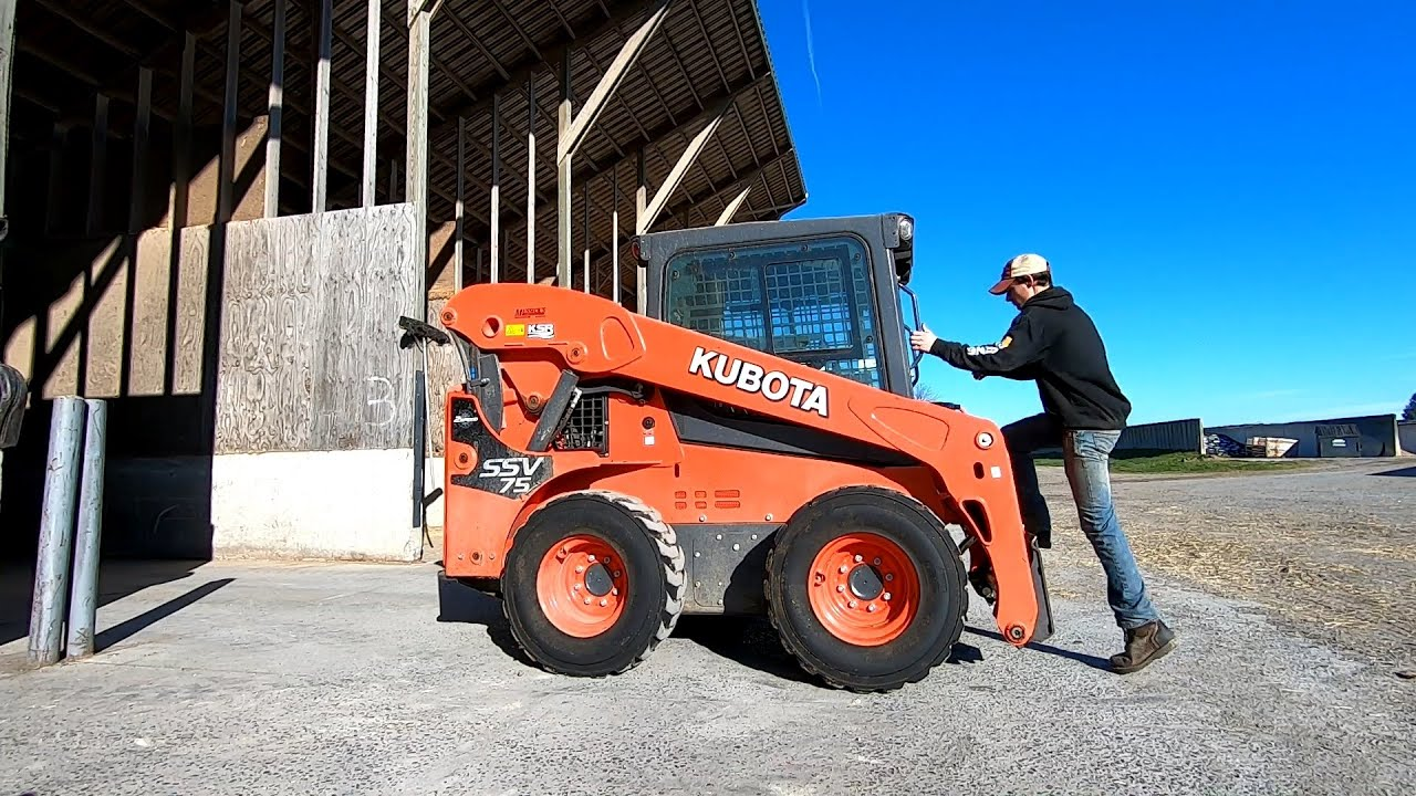 Dairyman's Review of Kubota SSV75 Skid Loader