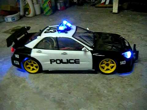Subaru Impreza Prova Police Car with working lights