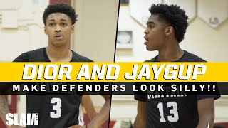 Josh Christopher & Dior Johnson MAKE DEFENDERS LOOK SILLY!!! Video