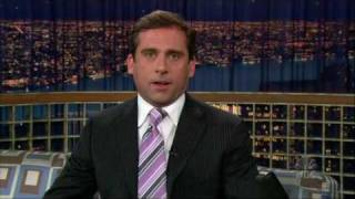 Steve Carell as a Joyless Laughing Guy