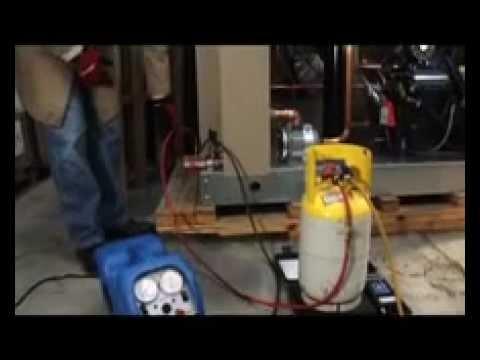Procedimientos para recuperar gas refrigerante - YouTube