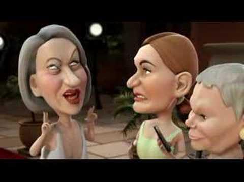 The Adventures of Helen Mirren & Judi Dench - Headcases#02a