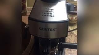 Centek CT 1160 обзор кофеварки.
