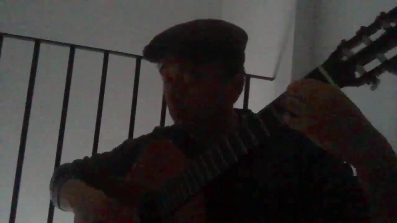 Impro sobre un tema de guitarra acústica. 3er día de 15
