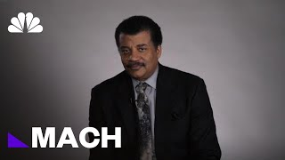 Could Cosmic Interloper Be An Alien Spacecraft? Neil DeGrasse Tyson Isn't Sure | Mach | NBC News